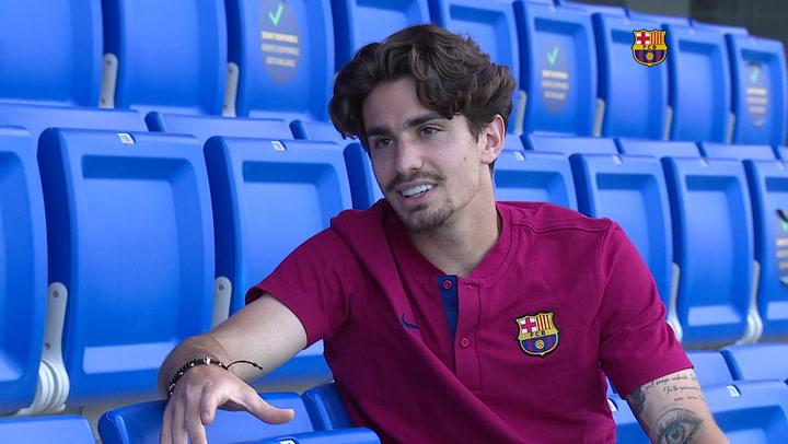 Entrevista a ÁLex Collado, jugador del Barça B