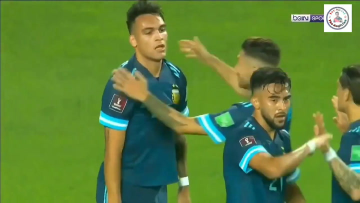 Victoria de Argentina ante Perú (0-2)