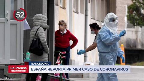 España reporta primer caso de coronavirus en Barcelona y otras noticias