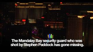 Guard shot at the Mandalay Bay hotel goes missing