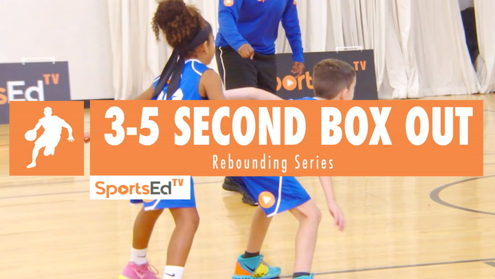 3-5 Second Box Out Drill