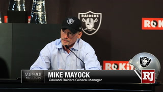 Raiders' Mayock and Gruden expect first round picks to be leaders