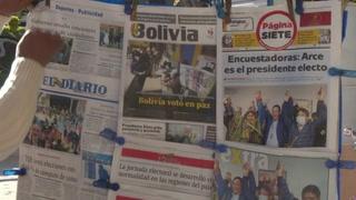 Líderes latinoamericanos saludan triunfo de Arce en Bolivia, reconocido por Mesa