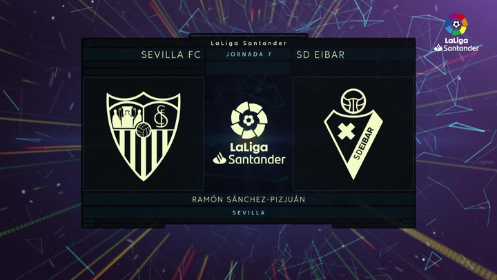 LaLiga (J7): Resumen y gol del Sevilla 0-1 Eibar