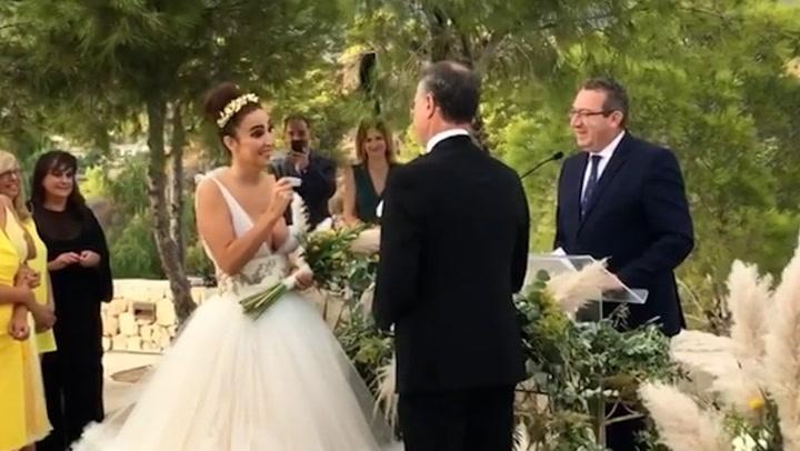 \'Sí, quiero, para siempre\', Cristina Rodríguez comparte el video más emotivo de su boda