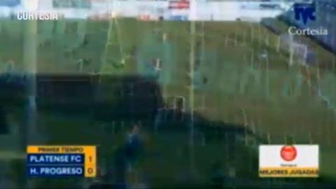 Platense enta ganando  1-0 a Honduras del Progreso