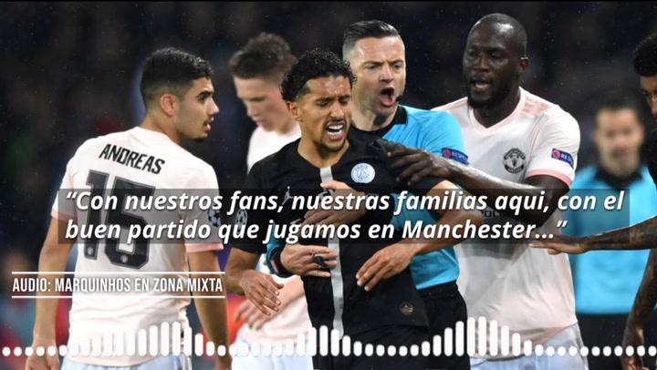 Marquinhos habla tras la eliminación del PSG