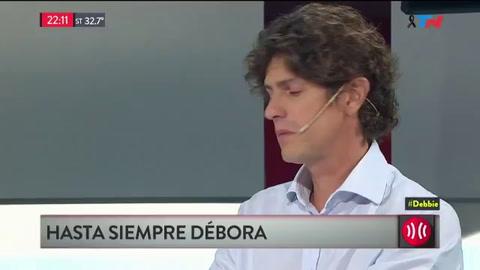 Lousteau se quebró al recordar a Débora Pérez Volpin
