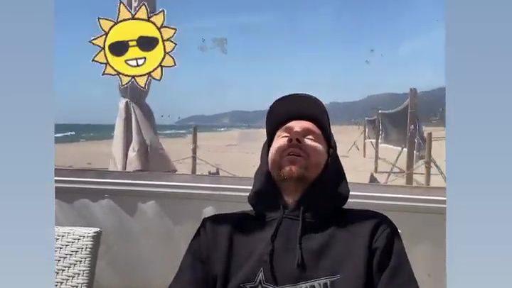 Messi y Antonela disfrutan del sol en Castelldefels