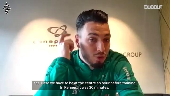 Ramy Bensebaini on his adaptation to Bundesliga
