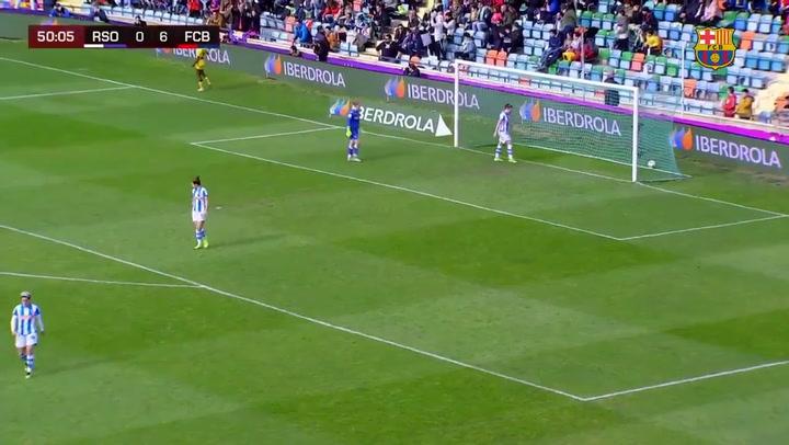 Final de la Supercopa Femenina de fútbol: Gol de Oshoala (0-7)
