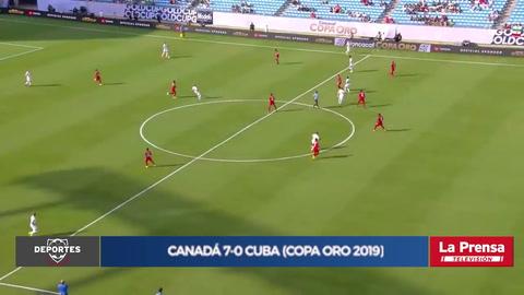 Canadá 7-0 Cuba (Copa Oro 2019)