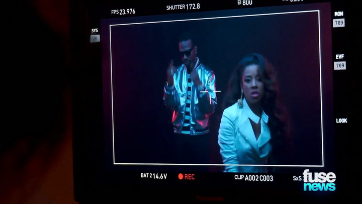 Shows: Fuse News: Keyshia Cole BTS