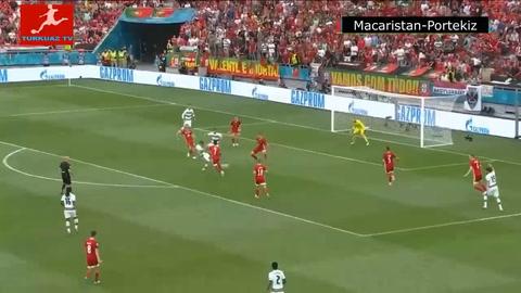 Hungría 0-3 Portugal (Eurocopa)