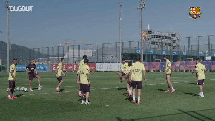 El FC Barcelona se sigue preparando para LaLiga