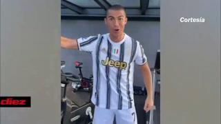 Cristiano Ronaldo motiva a sus compañeros previo al duelo con el FC Barcelona en Champions League