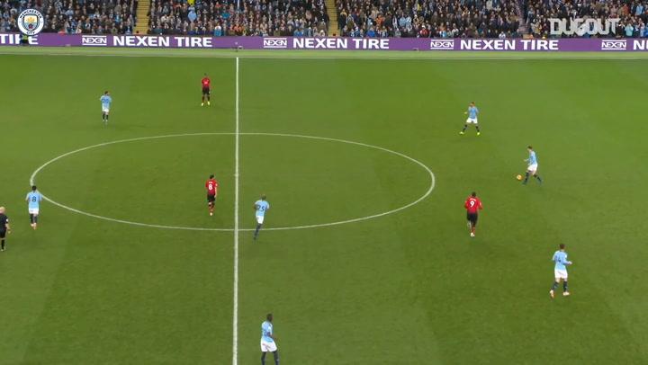 Goles en Equipo: Man City y sus 44 pases en el derbi ante el United