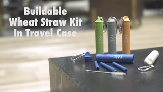 Buildable Wheat Straw Kit In Travel Case
