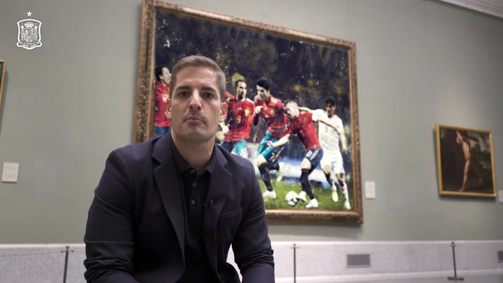 Robert Moreno dio la lista de convocados para los partidos ante Malta y Rumanía desde el Museo del Prado