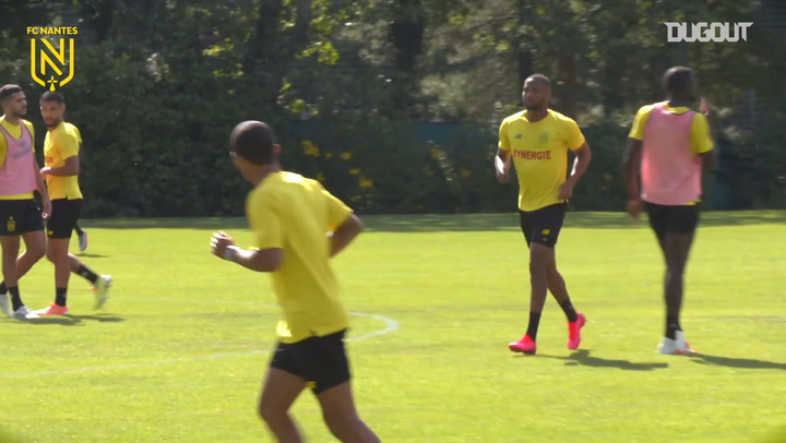 FC Nantes hit the target in training