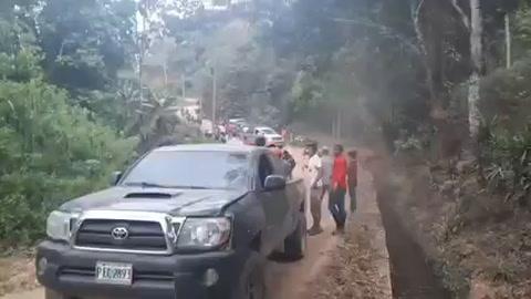 Trágico accidente en Nueva Frontera, Santa Bárbara, deja cuatro muertos