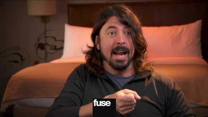 Interviews: Dave Grohl on Soundgarden Video