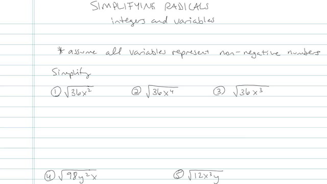 Simplifying Radical Expressions - Problem 4