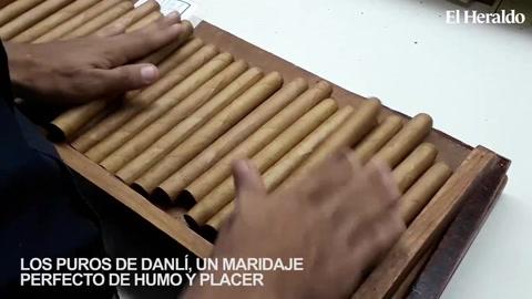 Los puros de Danlí, un maridaje perfecto de humo y placer
