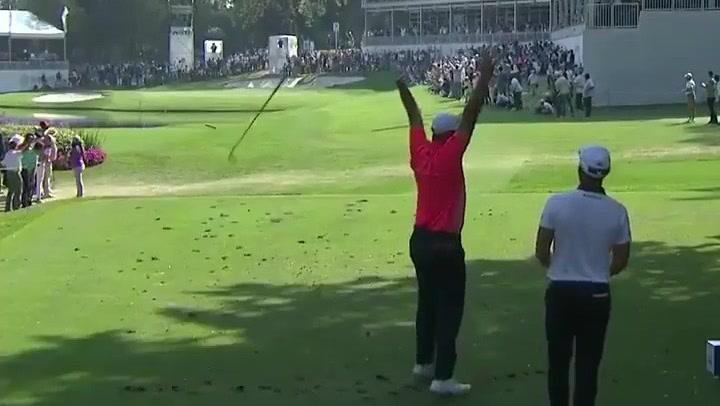 Gran golpe de Jon Rahm en la última jornada del mundial de golf
