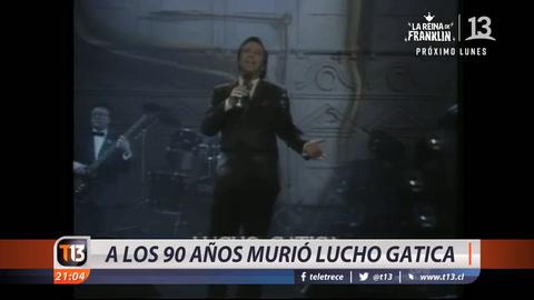 Lucho Gatica, el Rey del Bolero, murió en México a los 90 años