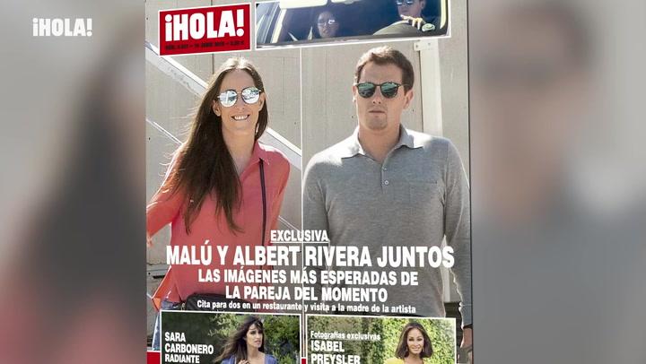 Albert Rivera y Malú, una relación a prueba de rumores