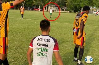 Henry Figueroa debutó con Marathón en amistoso ante Lone FC de la Liga de Ascenso