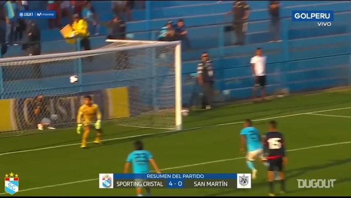 Carlos Lobatón's free-kick brace