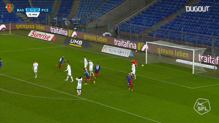 Arthur Cabral's stunning goal vs Zurich