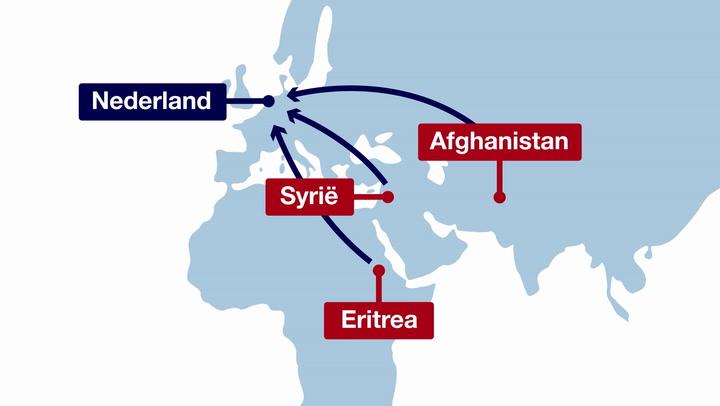 In 60 seconden: De asielprocedure van vluchtelingen