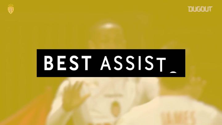 Best Assists: James Rodríguez For Anthony Martial Vs EA Guingamp
