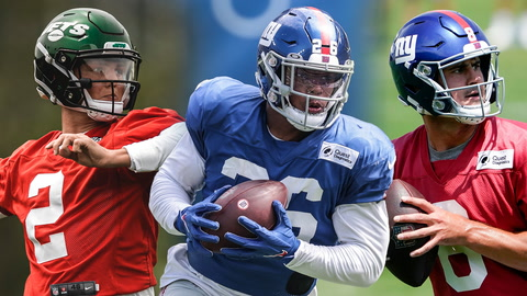 Expectations too high for Zach Wilson? More eyes on Saquon Barkley or Daniel Jones? | SportsNite