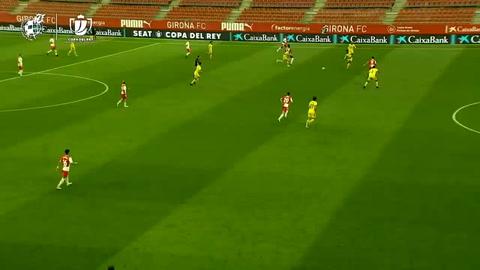 Girona 2-0 Cádiz (Copa del Rey)