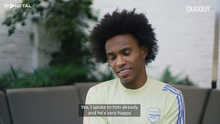 Willian reveals what David Luiz said to him before he joined Arsenal
