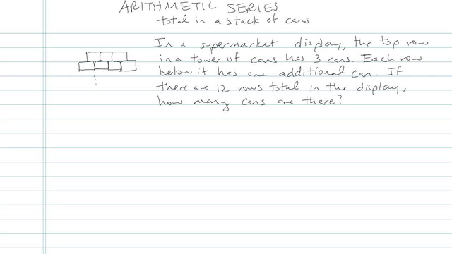 Arithmetic Series - Problem 8