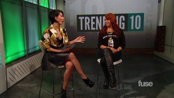 Shows: Trending 10: Faith Evans (10/03/14)