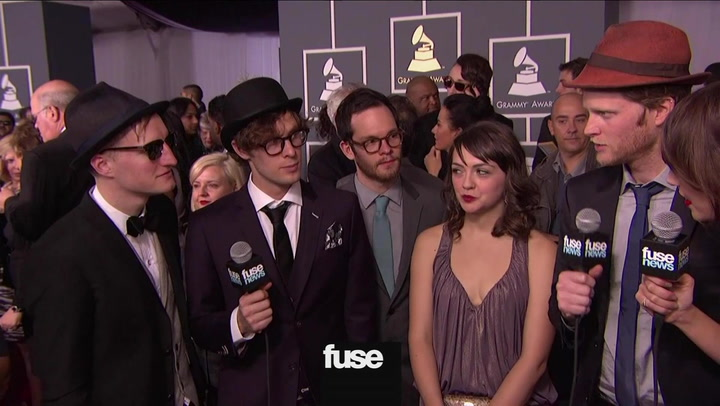 The Lumineers Take the GRAMMYs: #TBT