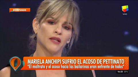 Mariela Anchipi también apuntó contra Pettinato como un acosador: Me acorralaba