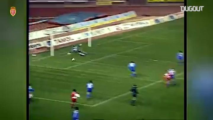 Jürgen Klinsmann Four goals vs Auxerre