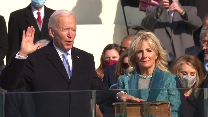 Joe Biden's Inauguration Day