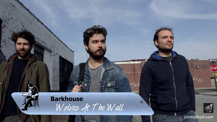 Barkhouse performs Wolves at the Wall on The Jimmy Lloyd Songwriter Showcase