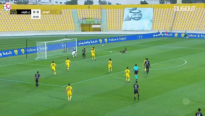 AGL Matchday 17 highlights: Al-Wasl 4-4 Ittihad Kalba