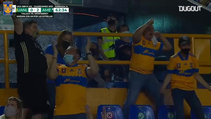 Diego Reyes's header goal vs América