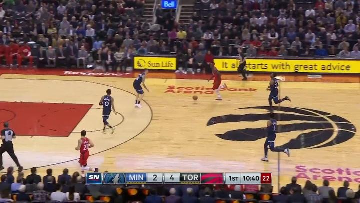 Pascal Siakam (Raptors), el más destacado de la jornada de la NBA del 10 de febrero 2020
