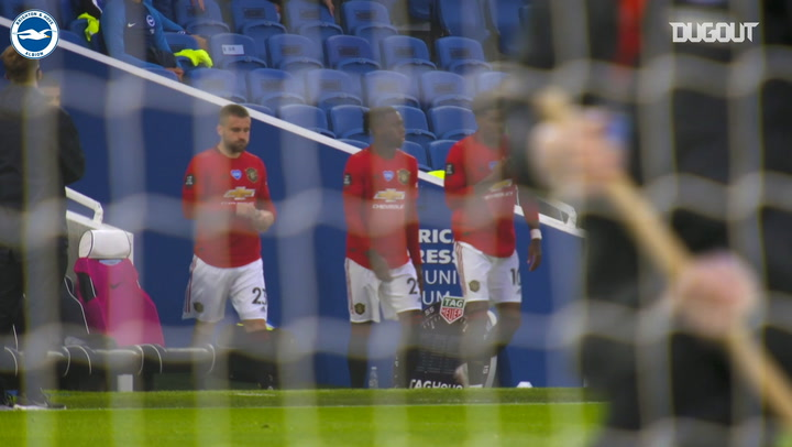 Pitchside View: Brighton's Amex clash with Manchester United